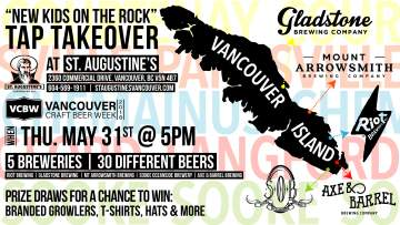 New Kids On The Rock Tap Takeover @ St. Augustine's | Vancouver | British Columbia | Canada
