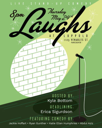 Laughs at Luppolo @ Luppolo Brewing Company |  |  |