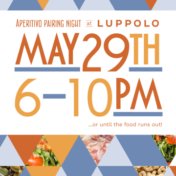Aperitivo Pairing Night @ Luppolo! @ Luppolo Brewing Company | Vancouver | British Columbia | Canada
