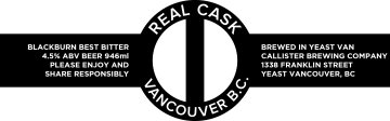 Real Cask: Last Day Ever! @ Callister Brewing | Vancouver | British Columbia | Canada