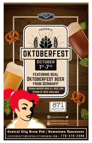 Oktoberfest at 871 Beatty @ Central City Brewpub Beatty