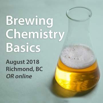 Brewing Chemistry Basics @ KPU Richmond Campus        
