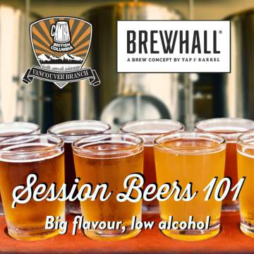 Session Beers 101 @ Brewhall | Vancouver | British Columbia | Canada