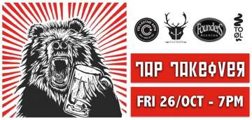 Liquid Art Fest Tap Takeover | The Brixton @ The Brixton