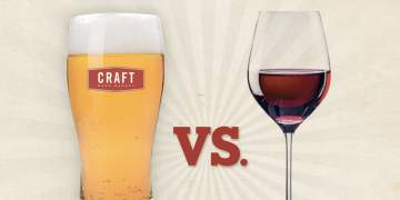 Brewery vs. Winery Dinner @ Craft Beer Market