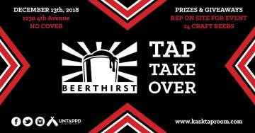 Beerthirst Tap Takeover @ Kask