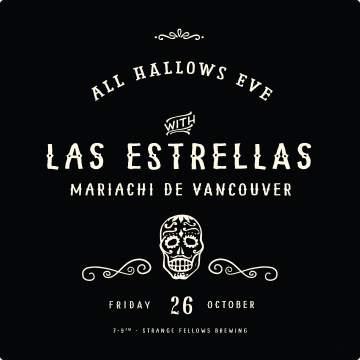 Strange Fellows All Hallows Eve Celebration 2018 @ Strange Fellows Brewing   Vancouver   British Columbia   Canada