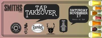 Liquid Arts Tap Takeover @ Smiths Pub