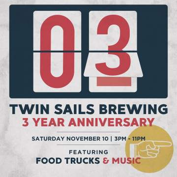 Twin Sails Brewing 3 Year Anniversary @ Twin Sails Brewing | Port Moody | British Columbia | Canada