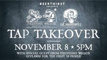 Firestone Tap Takeover + Meet & Greet @ St. Augustine's