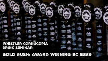 Whistler Cornucopia - Gold Rush: Award Winning BC Beers @ Whistler Conference Center