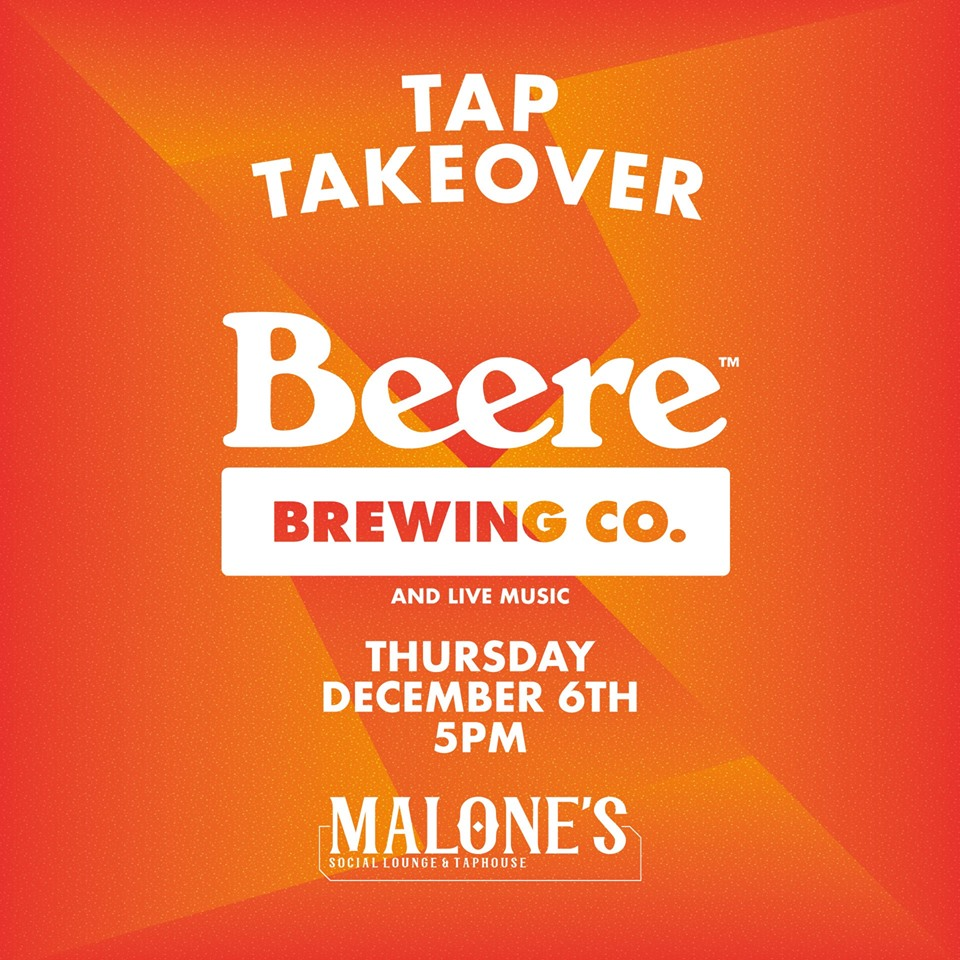 Beere Brewing Tap Takeover