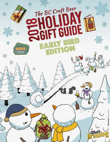 Christmas Gift Guide Magazine.What S Brewing Releases Bc Craft Beer Holiday Gift Guide