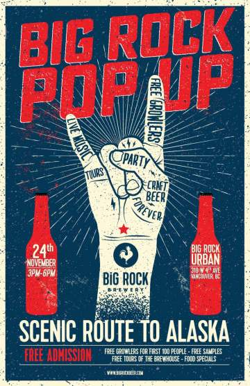 Pop Up Party: Big Rock Urban @ Big Rock Urban