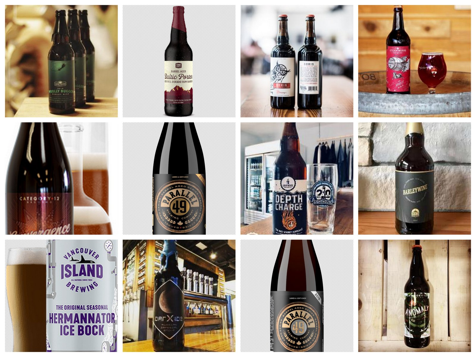 Twelve Big BC Craft Beers For The Extreme Winter Beer Lover