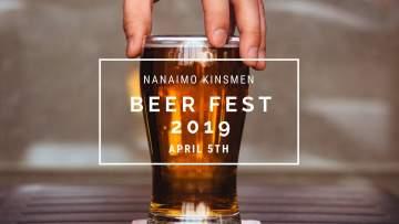 Nanaimo Kinsmen Beer Festival 2019 @ Beban Park Social Centre