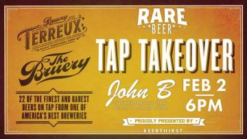 The Bruery Rare Beer Tap Takeover @ John B Neighbourhood Pub The