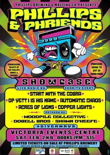 Phillips & Phriends 2 @ Victoria Event Centre