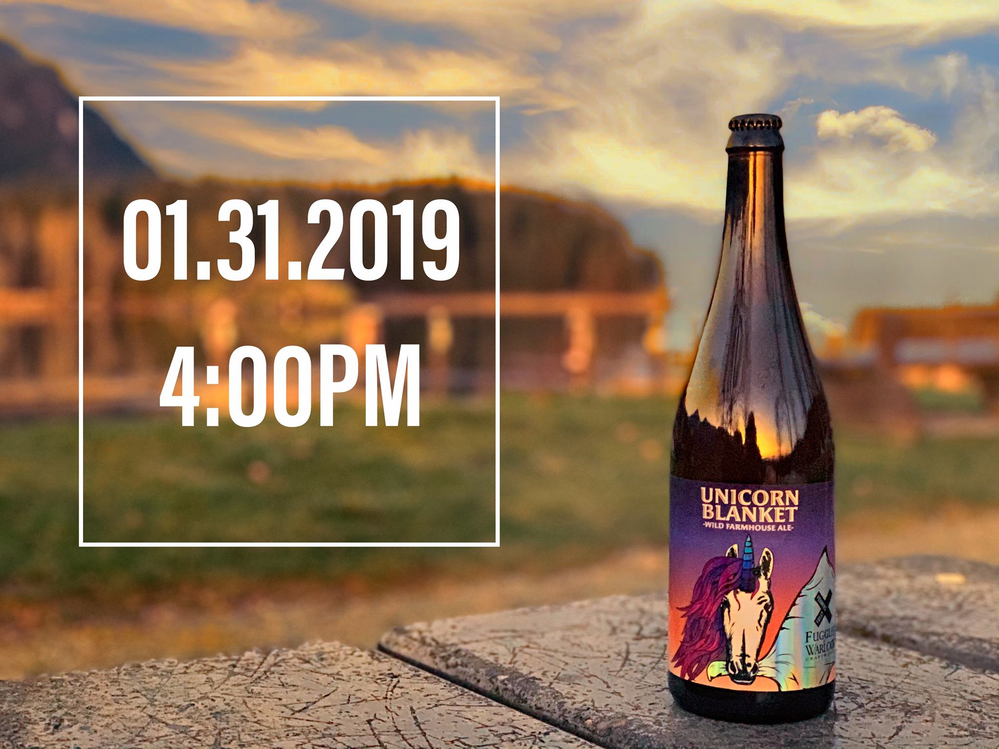 Beer Release Party: Unicorn Blanket Collaboration With Fuggles