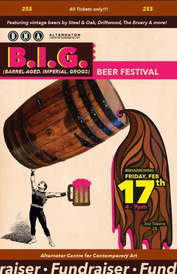 BIG Beer Festival @ BNA Brewing Co. & Eatery