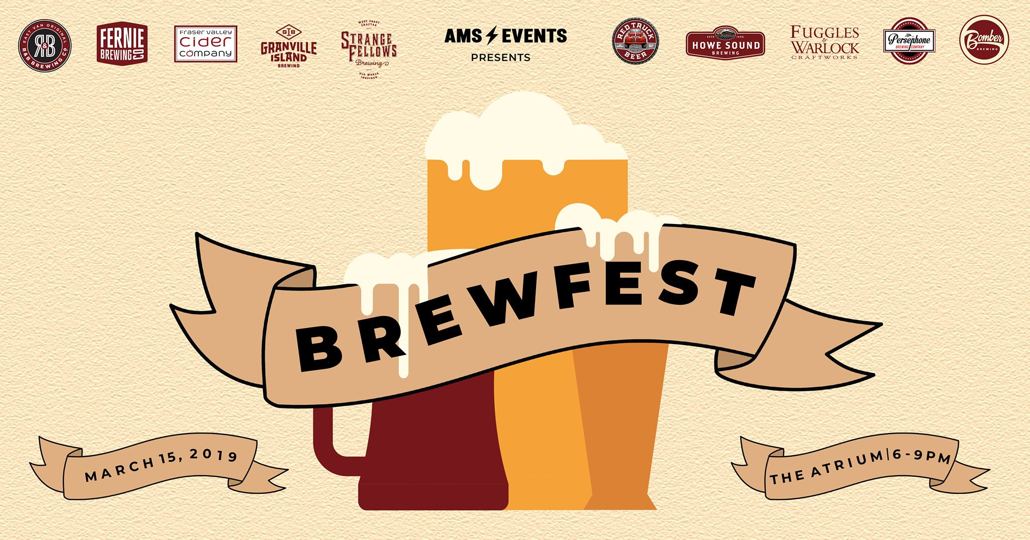 AMS Events Presents: Brewfest