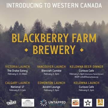 Blackberry Farm Showcase @ The Drake Eatery