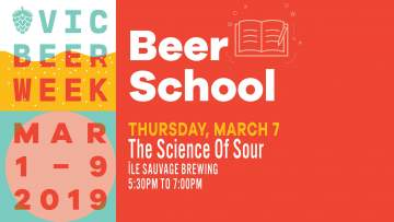 Beer School: The Science of Sour @ Île Sauvage Brewing Co.