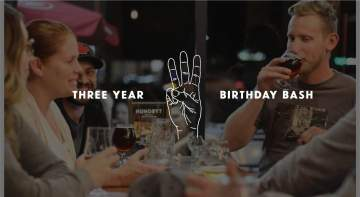 Three Year Birthday Bash @ Trading Post Brewing