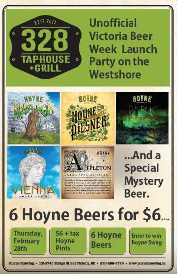 Hoyne Brewing Tap Takeover @ 328 Taphouse + Grill