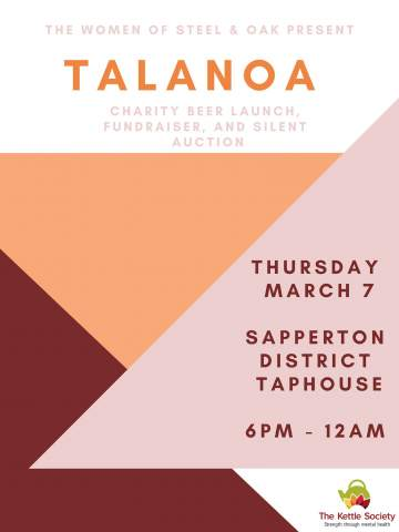 Talanoa Launch and Fundraiser for The Kettle Society @ Sapperton District Taphouse