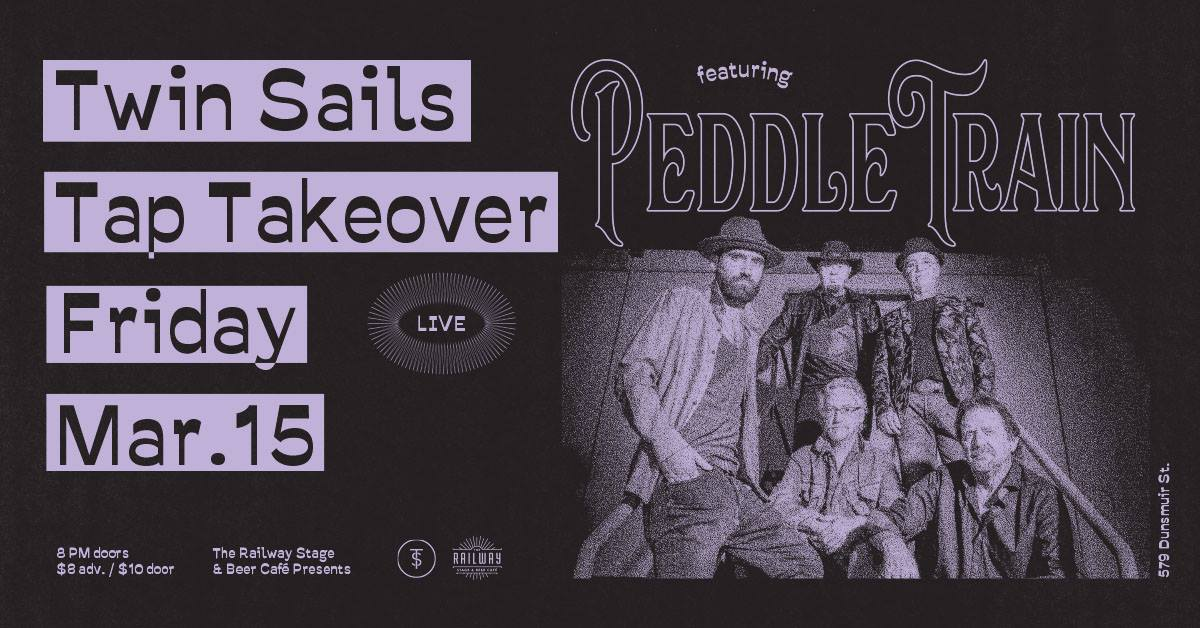 Twin Sails Tap Takeover // Railway Stage & Beer Café