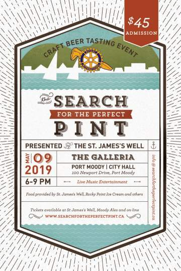 Search for the Perfect Pint 2019 @ Port Moody - City Hall