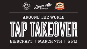 Around The World Tap Takeover @ Biercraft Tap And Tapas