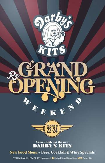 Grand Re-Opening Party @ Darby's Pub & Liquor Store