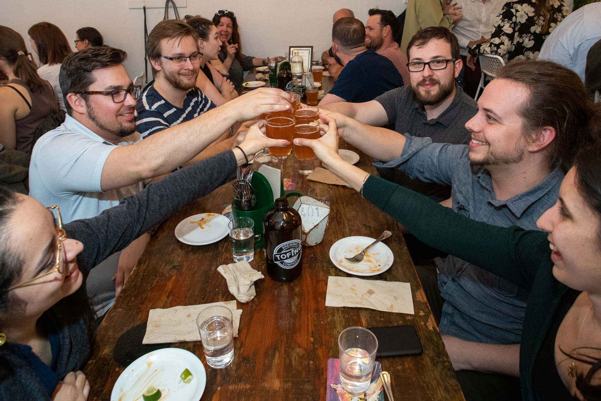 "Tacofino Pleases With Its ""Hastings Outpost"" Beer Dinner Series"