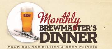 Field House Brewmaster's Dinner @ CRAFT Beer Market Vancouver