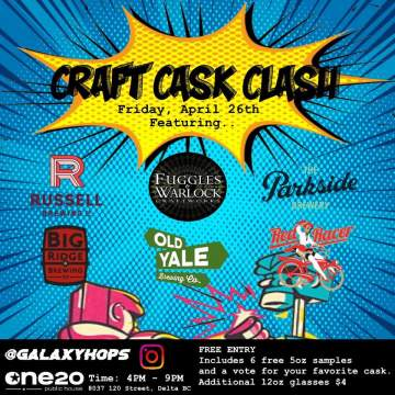 Craft Cask Clash @ One20 Public House