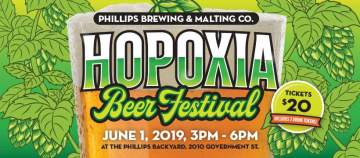 HOPoxia 2019 @ Phillips Brewing & Malting Co.