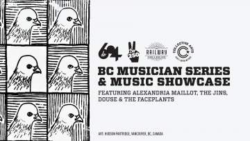 BC Music Series Can Release Party and Showcase @ Railway Stage & Beer Café