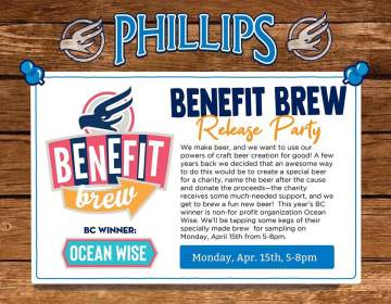 2019 Benefit Brew Release Party @ Phillips Brewing & Malting Co.