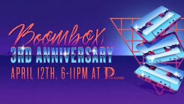 3rd Anniversary Party @ Downstairs at 238 Keefer St.