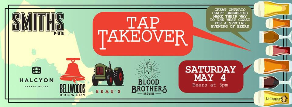 Ontario Tap Takeover - What's Brewing Magazine