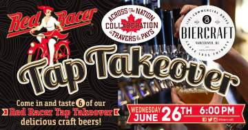 Across the Nation Collaboration Tap Takeover @ BierCraft Tapa