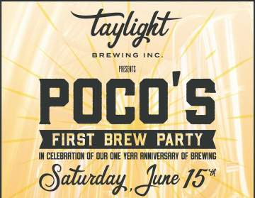 Poco's First Brew Party @ Taylight Brewing Inc.