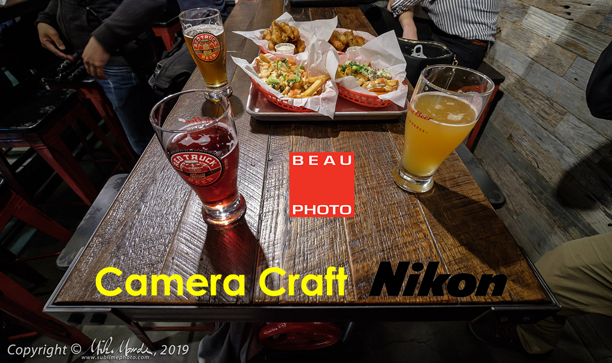 An Evening OfBeertography: Camera+Craft Session #2 With Beau Photo