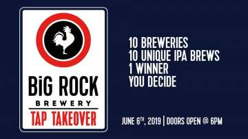 Brewery Creek IPA Tap Takeover @ Big Rock Vancouver