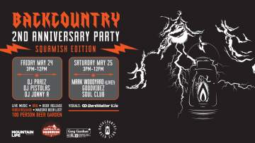 2nd Year Anniversary - Squamish @ Backcountry Brewing