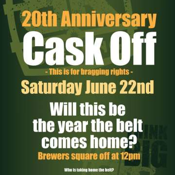 20th Anniversary Cask Off @ Big Ridge Brewing Co.
