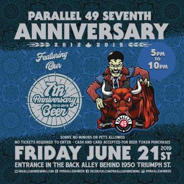 Parallel 49 Brewing Co. 7th Anniversary Party! @ Parallel 49 Brewing Company