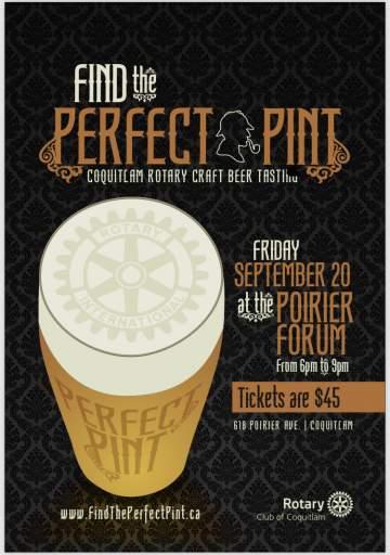 Find the Perfect Pint - Craft Beer Festival of Coquitlam @ Poirier Forum | Coquitlam | British Columbia | Canada